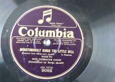 """78rpm 12"""" DON COSSAKS CHOIR song volga boatmen / monotonously rings little bell"""