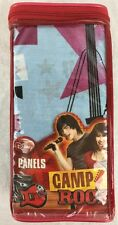 "Camp Rock Music Stars Blue Window Curtain Drapery Panels 82""x63"" 36""-48"" Window"