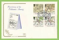 G.B. 1992 Oriinance Survey set on Cotswold First Day Cover, Hamstreet
