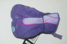 HEAD Jr Ski Mitten Kids Snow Gloves Purple Dupont Zip Thermal XXSmall Age 1-2