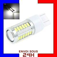 1 Ampoule 33 LED SMD T20 7443 W21 5W Blanc Xénon Feux De Jour Recul Brouillard
