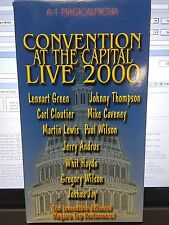 CONVENTON AT THE CAPITAL LIVE 2000 MULTIPLE ARTIST VHS VIDEO GREEN CLOUTIER ETC