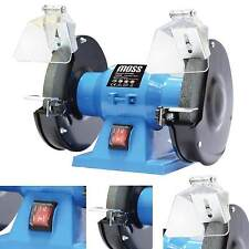 "Bench Grinder 150W 6"" 150mm Twin240v Grindstone Grinding Stone Workshop Garage"