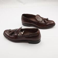 FOOT JOY VTG Tassel Loafers Brown Leather Mens 8A
