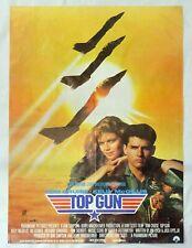 TOP GUN 1986 Original Yugoslav Movie Poster