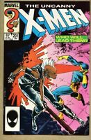 Uncanny X-Men #201-1986 vf 8.0 X Men 1st Cable / Nathan Summers as baby