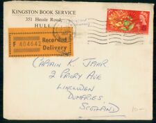 Mayfairstamps Great Britain 1964 Hull Recorded Deliver to Scotland Kingston Book