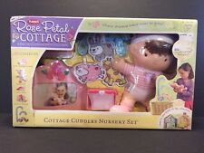 Playskool Rose Petal Cottage Cuddles Nursery Set Baby Doll Wipes Frame Mobile