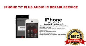 iPhone 7/iPhone 7 Plus Audio IC No Mic Speaker Sound Slow Boot Repair Service