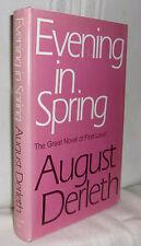 August Derleth EVENING IN SPRING First edition thus Stanton & Lee 1945