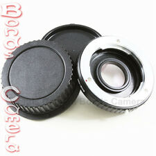 Minolta MD MC Lens to Canon EOS EF Camera Mount Adapter Optic 70D 700D 6D 5D III