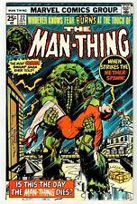 MAN-THING #22 - VF/NM Marvel 1975 Vintage Comic