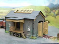 Ratio 220 Stone Type Goods Shed N Gauge 1/148th Scale Plastic Kit - T48 Post