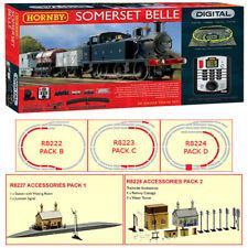 HORNBY Digital Set R1125 Somerset Belle with extra Track & Building Packs
