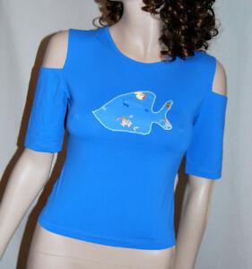 LA PERLA Top Shirt 36 38 Microfaser WEICH  Fetzig Bikini Leicht  59,-  FM-OCV-29
