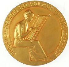 France CHAMBRE DE METIERS INTERDEPARTMENTAL DE PARIS gilt-bronze 55mm by Contaux