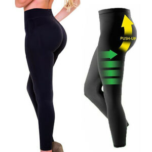 Anti cellulite schlankheits leggings Pro-Slimming Hohe Taille Hose Mieder Shaper