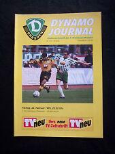 Orig.PRG   1.Bundesliga  1994/95   1.FC DYNAMO DRESDEN - VfL BOCHUM  !!