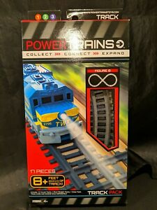 Power City Trains Figure 8 Track Pack 17 Pieces Brand New Factory Sealed