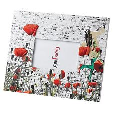 Ge Feng Poppies Photo Frame Red Poppy Trendy Girly Christmas Gift, A22293