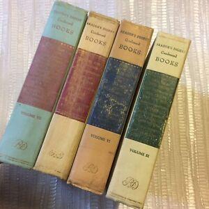 4 c.1950s First edition Readers Digest Condensed Books Vintage Hardbacks