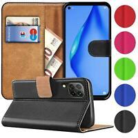 Book Case für Huawei P40 Lite Hülle Flip Cover Handy Tasche Schutz Hülle Schale
