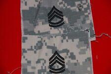 US ARMY SERGEANT FIRST CLASS SFC BADGES CLOTH ACU COMBAT UNIFORM PAIR ORIGINAL