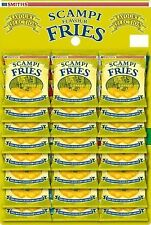 Smiths Scampi Fries Carded 24x27g - FREE P&P JAN 2021 DATED