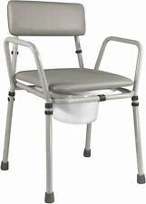 Aidapt Essex Toilettenstuhl höhenverstellbar VR161G, WC Sessel Stuhl - NEU+OVP