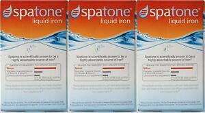 Spatone Natural Liquid Iron Supplement Original 14 / 28 / 42 Sachets x 20 ml NEW