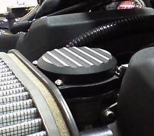 Harley Davidson Aluminum Carburetor Cover Texture Black Two Tone