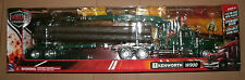 1/32 Scale Kenworth W900 Logging Truck Tractor Trailer Model - New Ray 13133