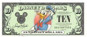 USA / Disney Dollars  $10  Series 2003  Mr. Donald  Uncirculated Banknote G5
