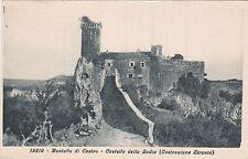 # MONTALTO DI CASTRO: CASTELLO DELLA BADIA- ediz. Diena 19810