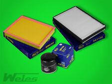 INSPEKTIONSPAKET OPEL ASTRA G 1,4 1,6 1,8 2,0 ZAFIRA A Luft- Öl- Pollenfilter