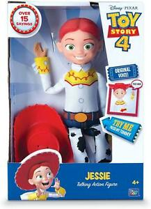 Toy Story Disney Pixar 4 Jessie Cowgirl Action Figure Talking