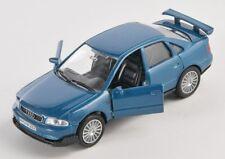 BLITZ VERSAND Audi A4 / A 4 blau / blue 1:34-39 Welly Modell Auto NEU & OVP