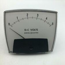 Nos Vintage General Electric 0 5 Dc Volts Meter 50 171011lsls1 Unused D8