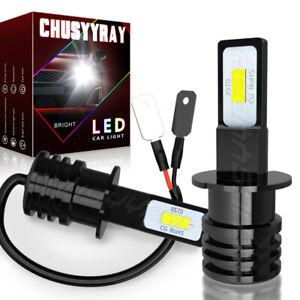 6000K H3 LED Bombillas luz antiniebla Kit lámpara conducción de automóviles DRL