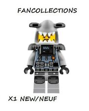 Lego- Hammer Head - Black Beard, Large Knee Plates , njo353  NEUF
