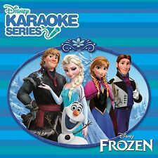 DISNEY'S FROZEN Disney Karaoke Series CD+G 2014 CD+Graphics,Lyric Book,16 tracks