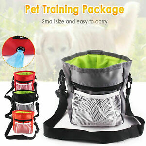 Dog Training Walking Pouch Waist Belt Snack Treat Storage Bag Poo Bags Dispenser