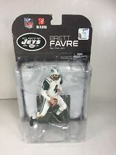 Brett Favre: New York Jets Mcfarlane Nfl Series 19  (PACKAGE HAS WEAR)