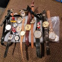 Vintage Lot Disney Mickey Mouse Watches