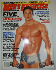 Men's Exercise Magazine Five Commandments Of Ab Training February 2003 030615R