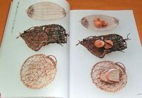 How To Make Natural Materials Weave Basket book japan japanese bag #0744