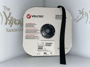 "VELCRO Brand 1"" Black Hook 1000 Sew On - Full 25yd Roll- Free Shipping"