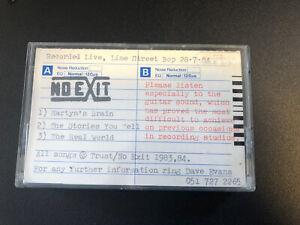 No Exit The Vow cassette Liverpool band Demo RARE!!!