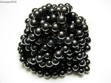 Natural MAGNETIC Hematite Gemstones Round Beads 16'' 4mm 6mm 8mm 10mm 12mm