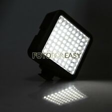 64-LED Video Camcorder SLR Camera Hot Shoe Continuous Light Lamp for Canon Nikon